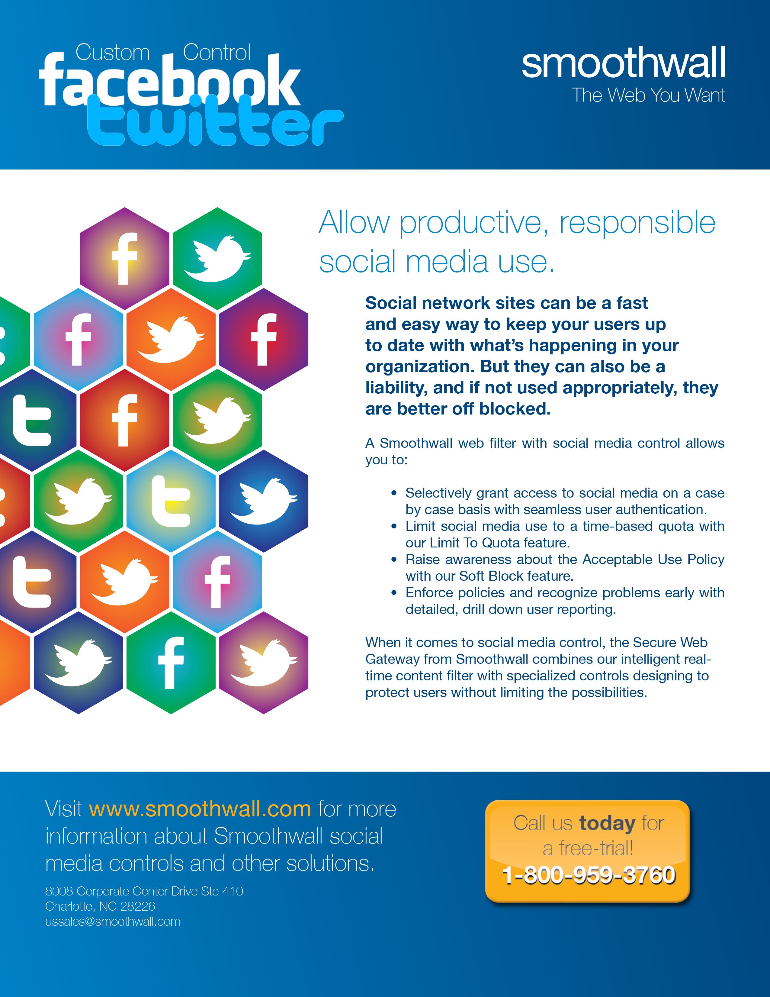 Smoothwall Social Media Integration