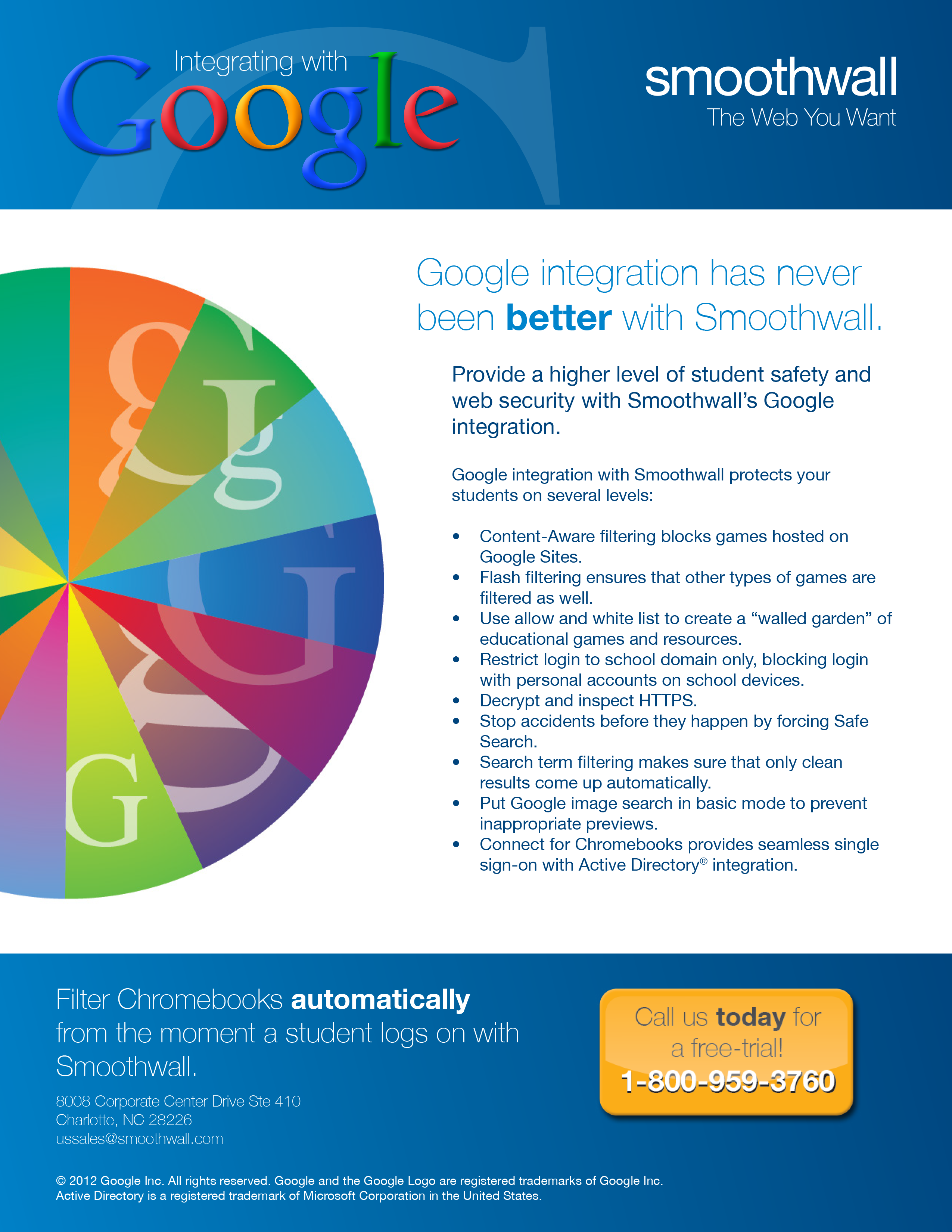 Smoothwall Google Integration